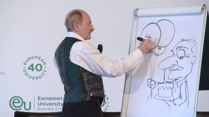 Kal Kallaugher Editorial Cartoonist for the Economist - EU Business School