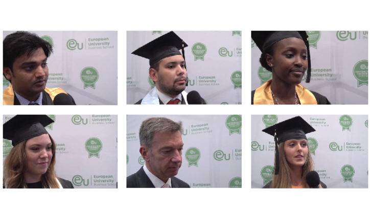 Barcelona Commencement 2013 Post-Ceremony Interviews - EU Business School