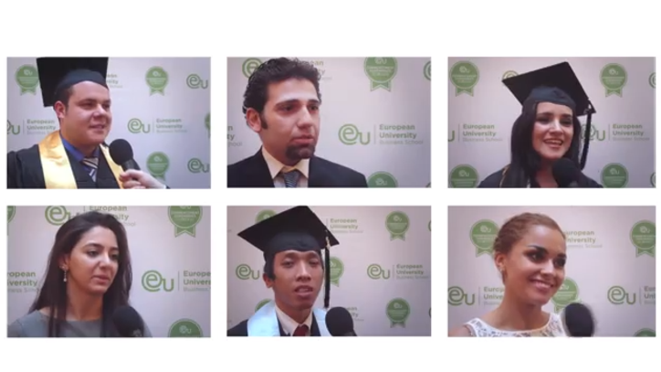 Munich Commencement 2013 Post-Ceremony Interviews - EU Business School
