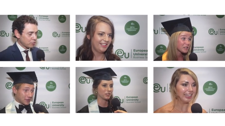 Barcelona Commencement 2014 Post-Ceremony Interviews - EU Business School