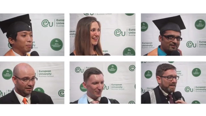 Munich Commencement 2014 Post-Ceremony Interviews - EU Business School