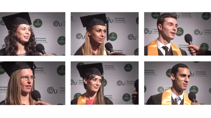 Switzerland Commencement 2014 Post-Ceremony Interviews - EU Business School