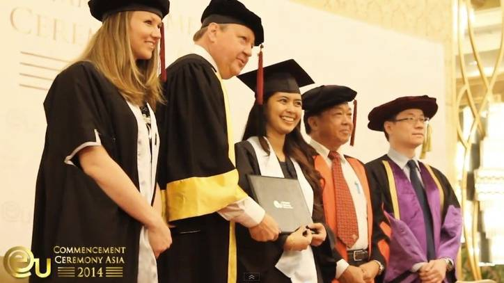 Graduation Ceremony 2014 - International Business School, Malaysia - EU Business School