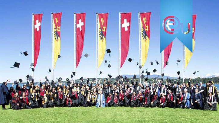 EU Business School Graduation 2015 – International Business School, Geneva and Montreux, Switzerland