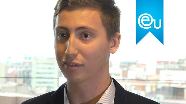 President of the EU Barcelona Student Board, Evan Planchon on His New Role
