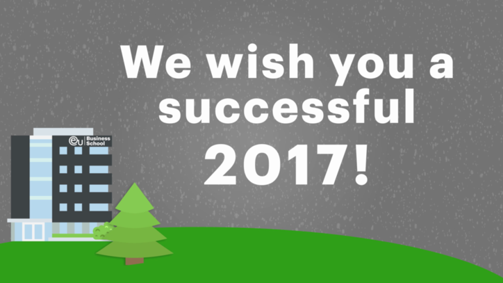 Season's Greetings from EU Business School