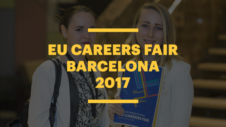 EU Careers Fair 2017 in Barcelona