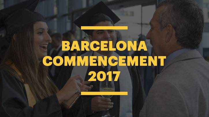 EU Business School Barcelona Commencement 2017