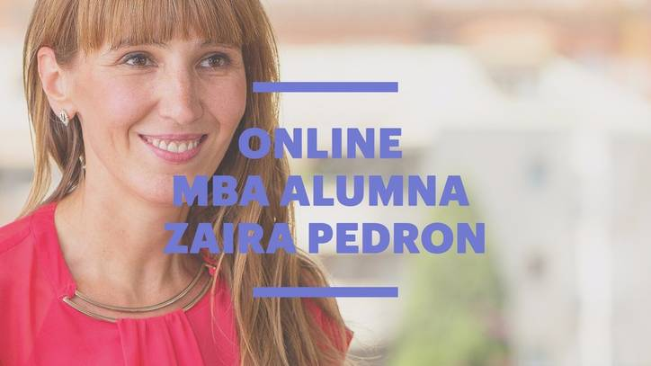 EU Alumna Zaira Pedron Shares Her Online MBA Experience