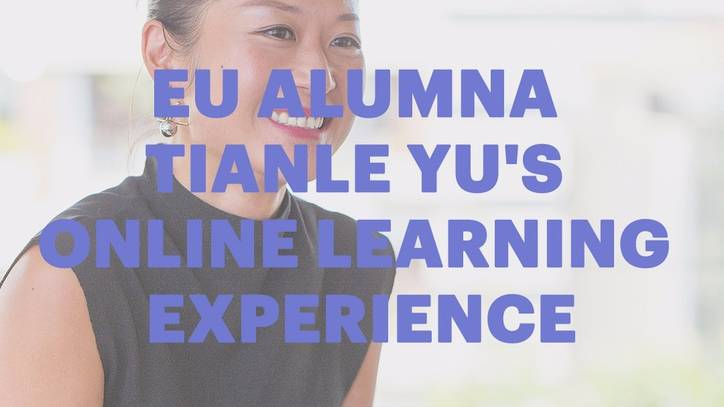 Tianle Yu on her EU experience during on campus week