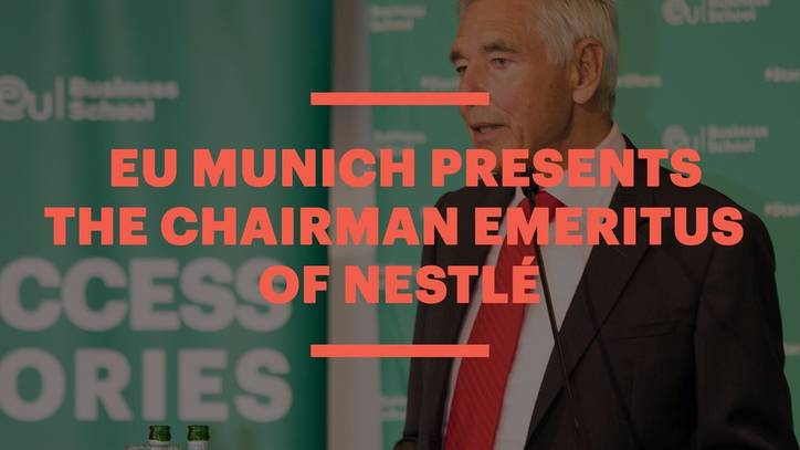 EU Munich Presents the Chairman Emeritus of Nestlé