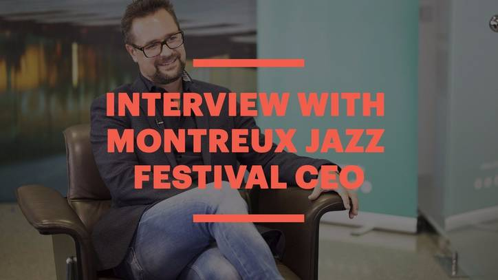 CEO of the Montreux Jazz Festival, Mathieu Jaton