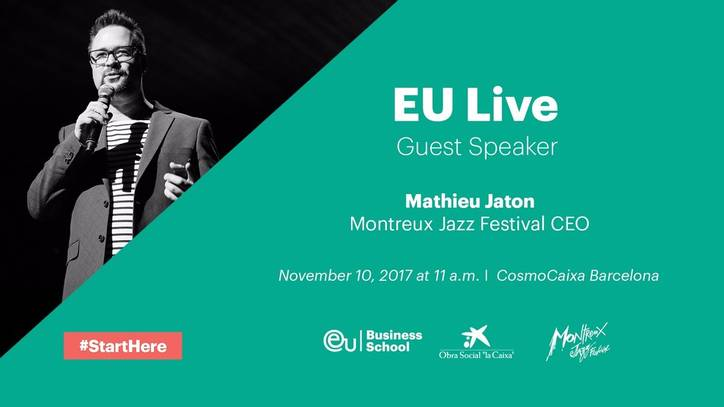 EU Live: Mathieu Jaton, CEO of the Montreux Jazz Festival