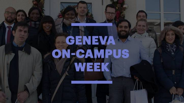 Online MBA - Geneva On-Campus Week - EU Business School