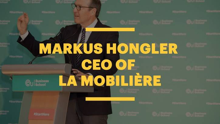 La Mobilière CEO Markus Hongler's Advice to Business School Students