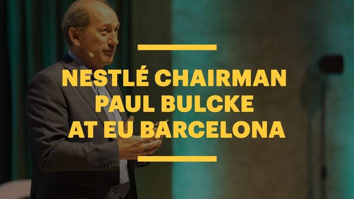 Career Advice from Nestlé Chairman: Paul Bulcke in Conversation with Peter Vanham at EU Barcelona
