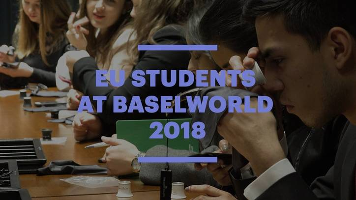 EU Students Experience Luxury Business at Baselworld 2018