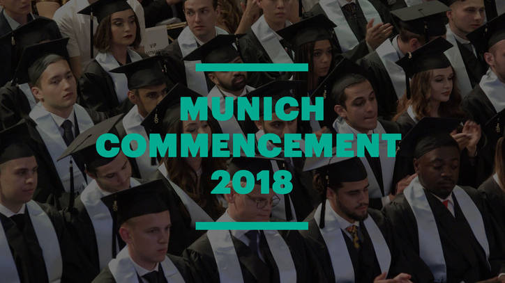 EU Business School Munich Commencement Ceremony 2018