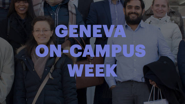 Geneva On-Campus Week