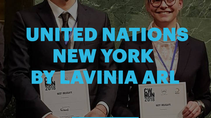 United Nations New York Vlog - Lavinia Arl