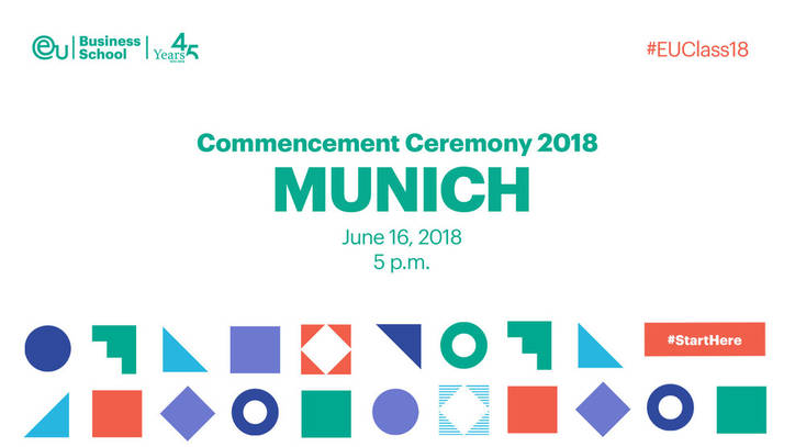 EU Business School Munich Commencement 2018