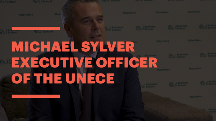 Executive Officer of the United Nations Economic Commission for Europe, Michael Sylver