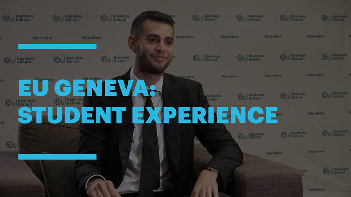 Experience EU Business School Geneva with Amir