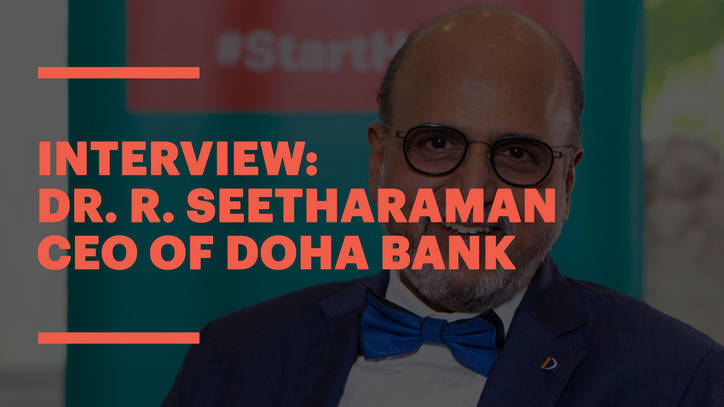 EU Alumnus and CEO of Doha Bank, Dr. R. Seetharaman, on sustainable leadership