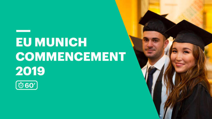 EU Business School Munich Commencement Ceremony 2019