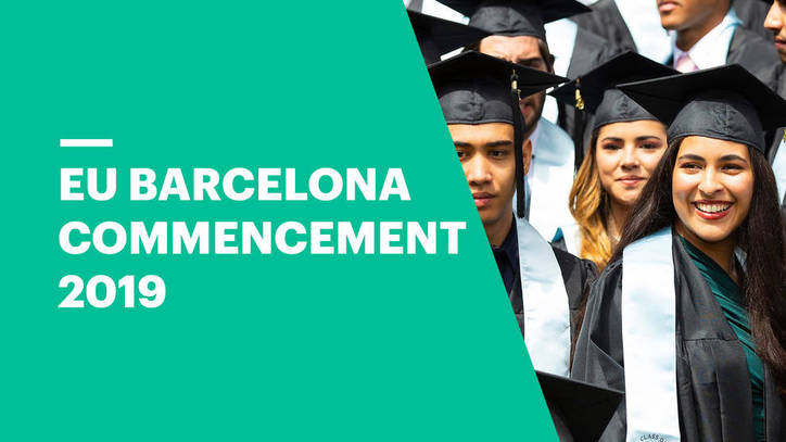 Commencement Ceremony 2019 | EU Business School Barcelona