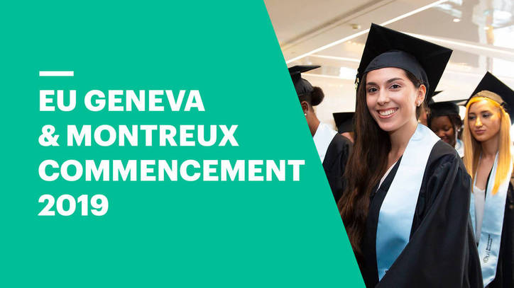 Commencement Ceremony 2019 | EU Business School Geneva & Montreux