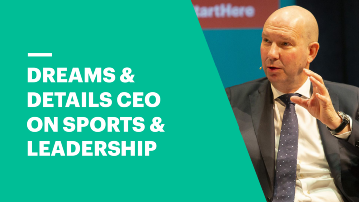 Sports & Reinventing Leadership - Dreams & Details CEO, Mikael Trolle