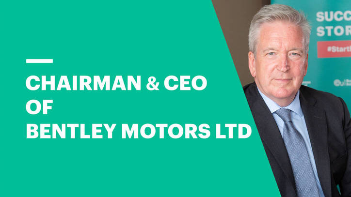 CEO & Chairman of Bentley Motors on Leadership and Industry Changes