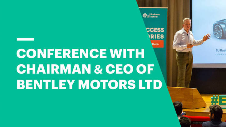 Adrian Hallmark, Chairman and CEO of Bentley Motors, on change, reinvention and innovation