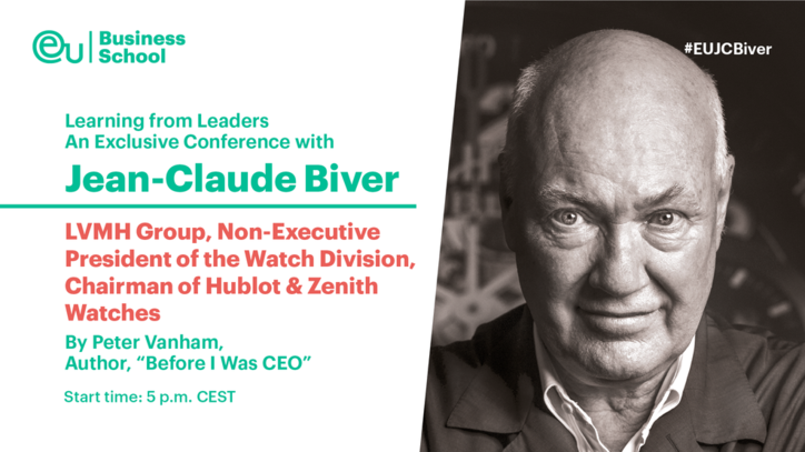 Learning From Leaders - Jean-Claude Biver