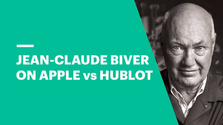 Jean-Claude Biver on Apple vs Hublot Watches