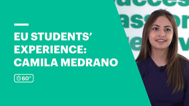 EU Business School Student Review | Camila Medrano