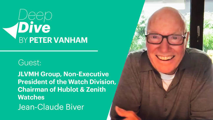 Deep Dive with Jean-Claude Biver, LVMH Group, Chairman of Hublot and Zenith watches