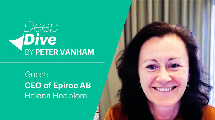 Deep Dive with Helena Hedblom, CEO of Epiroc