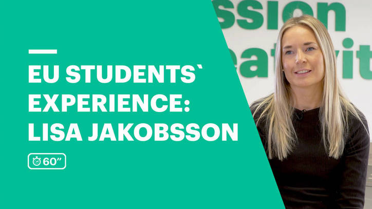 EU Business School Student Testimonial - Lisa Jakobsson from Sweden