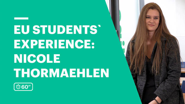 EU Business School Student Testimonial - Nicole Thormaehlen from Costa Rica