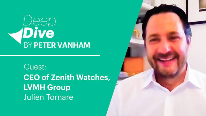 Deep Dive with Julien Tornare, CEO of Zenith, LVMH Group