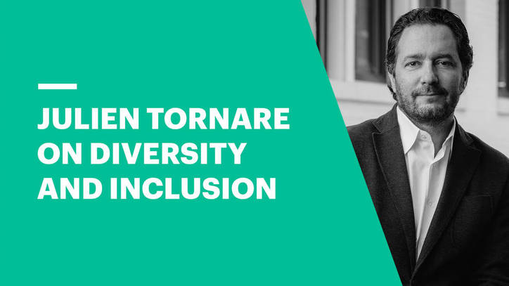 Julien Tornare on Diversity and Inclusion