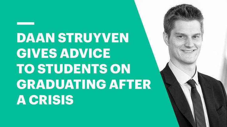 Daan Struyven Gives Advice to Students