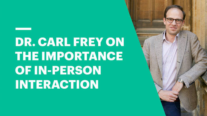 Dr. Frey on the Importance of In-Person Interaction for Innovation