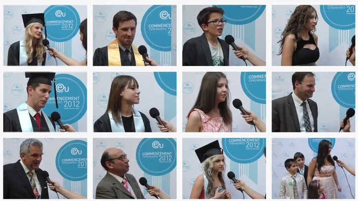 Munich Commencement 2012 Post-Ceremony Interviews - EU Business School