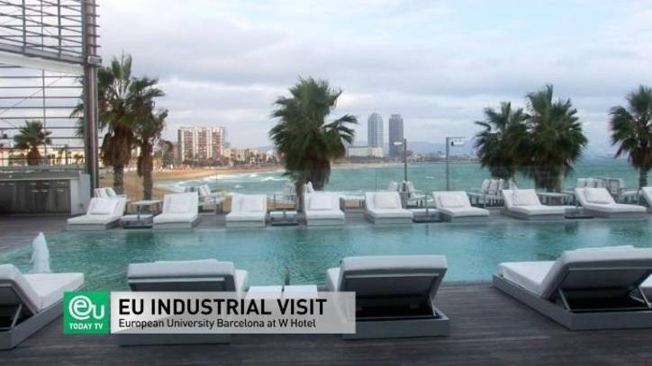 Hotel W - Industrial Visit - International Business School Barcelona, Spain - EU Business School
