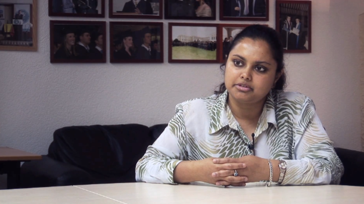 Interview with EU Geneva Bachelor Student Reeshmi Ghosh