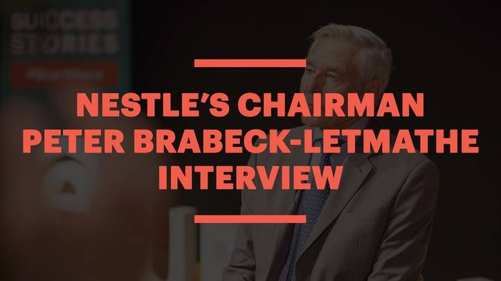 Nestle's Chairman Peter Brabeck-Letmathe Interview with EU Business School Barcelona