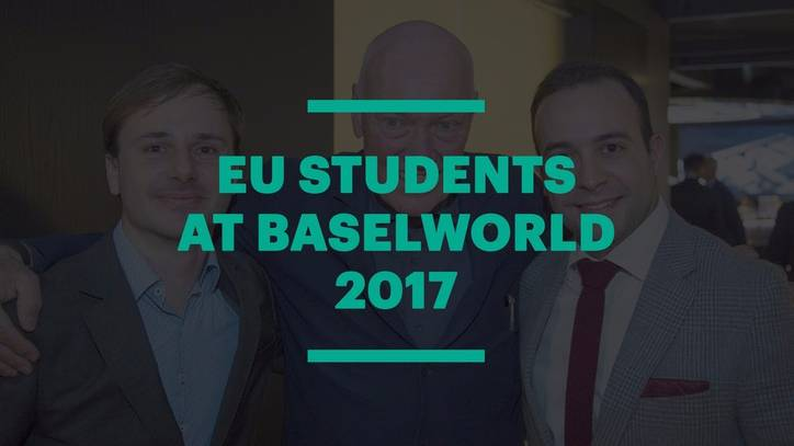 EU students at Baselworld 2017